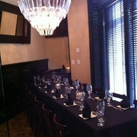 Photo taken at MetroPrime Steakhouse by Cady S. on 9/16/2012