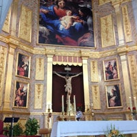 Photo taken at Parroquia Sagrada Familia by Javier B. on 9/14/2014