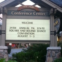 Photo taken at Gatlinburg Convention Center by Judy H. on 8/2/2013