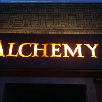 Photo taken at The Alchemy Cafe by Joe Z. on 1/3/2013