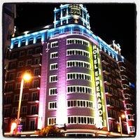 Photo taken at Hotel Emperador Madrid by Gracias por su visita on 2/1/2013