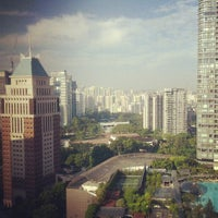Photo taken at Marriott Singapore Tang Plaza by Nathan G. on 6/2/2013