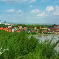 Photo taken at Wisata Pantai Boom Tuban by Tulus T. on 5/31/2015
