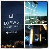 Photo taken at Loews Atlanta Hotel by Lucas M. on 10/13/2012