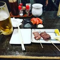 Photo taken at もつやき処 い志井 本店 by tsuru3 on 9/15/2016