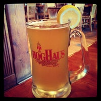 Photo taken at Hog Haus Brewing Company by Erica W. on 10/27/2012