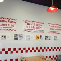 Photo taken at Five Guys by Anna T. on 5/2/2013
