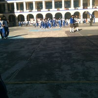 Photo taken at Colegio Salesiano Santa Julia by Erika S. on 10/26/2012