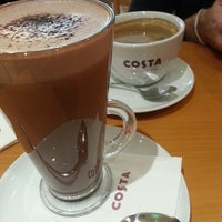 Photo taken at Costa Coffee - Hanwei Plaza by Angela on 1/7/2014