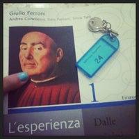 Photo taken at Biblioteca Rugantino by Giulia B. on 1/22/2013