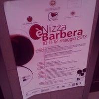 Photo taken at Nizza Monferrato by Giulia B. on 5/10/2013