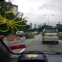Photo taken at Lebuhraya Persekutuan (Federal Highway) by Nurhanna F. on 11/2/2012