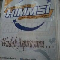Photo taken at Gedung Unit 5 STMIK AMIKOM Yogyakarta by ddkusuma on 9/24/2012