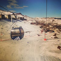 Photo taken at Valle Nevado by Gabriel H. on 6/9/2013