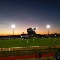 Photo taken at Estádio Vermelhão da Serra by Jeferson L. on 4/21/2013