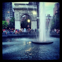Photo taken at Washington Square Park by Clint A. on 6/3/2013