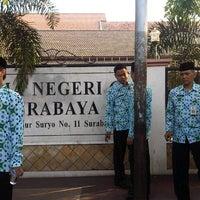 Photo taken at SMA Negeri 6 Surabaya by iNDR B. on 9/30/2012