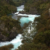 Photo taken at Huka Falls by Albina on 12/11/2013