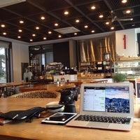 Photo taken at art cafe da:m by Kyun 覠 균 H. on 4/29/2014