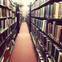 Photo taken at Mugar Library by Xavier on 10/10/2012