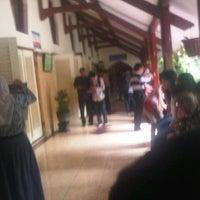 Photo taken at SMA Negeri 1 Surabaya by Six A. on 12/21/2013