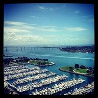 Photo taken at Manchester Grand Hyatt San Diego by Brad W. on 5/7/2013