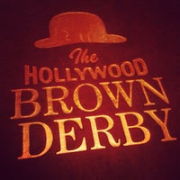 Photo taken at The Hollywood Brown Derby by Margaret G. on 2/14/2013
