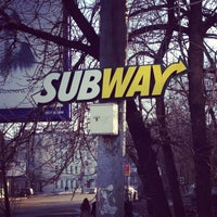 Photo taken at SUBWAY by Евгений on 2/26/2013