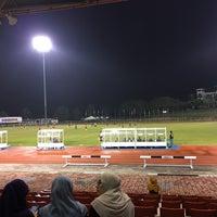 Photo taken at Stadium UKM by Wan N. on 11/24/2016