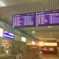 Photo taken at Terminal F (KBP) by Anna G. on 5/11/2013