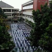 Photo taken at SMA Muhammadiyah 1 Yogyakarta by Dzulfikar Z. on 9/24/2012