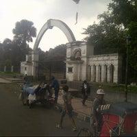 Photo taken at Lapangan Tegalega by Aidil Nashriq A. on 2/2/2013