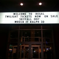 Photo taken at Regal Cinemas Germantown 14 by Carol Elizabeth M. on 11/10/2012