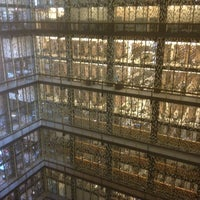 Photo taken at NYU Bobst Library by James C. on 5/21/2013