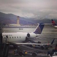 Photo taken at Reno-Tahoe International Airport (RNO) by Benjamin B. on 10/29/2013