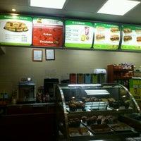 Photo taken at Subway by Maria Jose R. on 9/30/2012