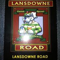 Photo taken at Lansdowne Road by Gul P. on 9/28/2012