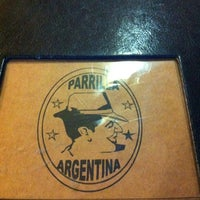 Photo taken at Parrilla Argentina by Dryelle K. on 10/7/2012