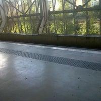 Photo taken at Estação Ferroviária de Entrecampos by Catia on 10/26/2012