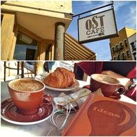 Photo taken at OST Cafe by Erik V. on 11/21/2012