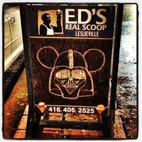 Photo taken at Ed's Real Scoop by Andrew D. on 11/1/2012