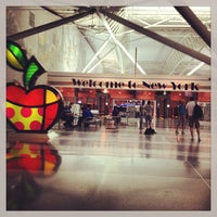 Photo taken at John F. Kennedy International Airport (JFK) by Aaron Chiklet A. on 7/22/2013