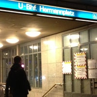 Photo taken at Hermannplatz by Katharina on 11/16/2012