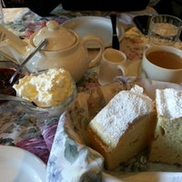 Photo taken at Miss Marple's Tea Room by Sharon H. on 11/3/2012
