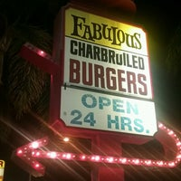 Photo taken at Fabulous Charbroiled Burgers #1 by Mark W. on 9/1/2016