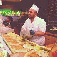 Photo taken at The King Of Falafel by Oli C. on 11/8/2012