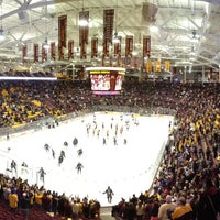 Photo taken at Mariucci Arena by ESPNU RoadTrip on 11/3/2012