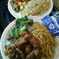 Photo taken at Panda Express by Jenn W. on 12/10/2012
