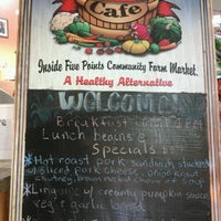 Photo taken at Five Points Market & Get Fresh Cafe by Third R. on 11/18/2012