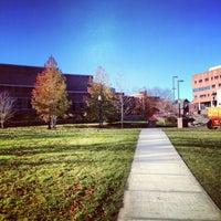 Photo taken at Homer Babbidge Library by Salman A. on 11/14/2012